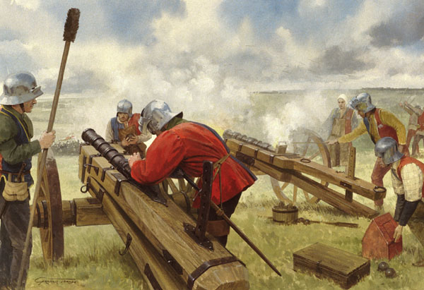 Artillery. From The Battle of Bosworth