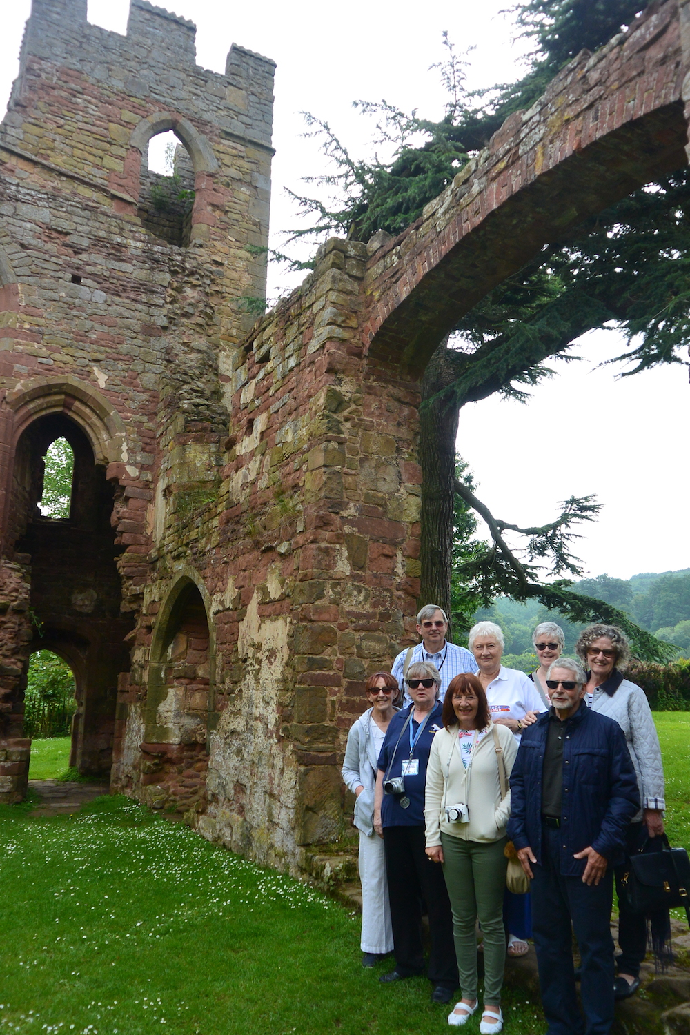North Mercia branch outing in June 2018 to Stokesay & Acton Burnell