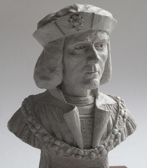 Gerry Hitch King Richard III original miniature bust