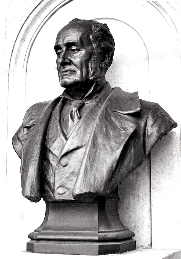 Royal Geographical Society's bust of Sir Clements Markham
