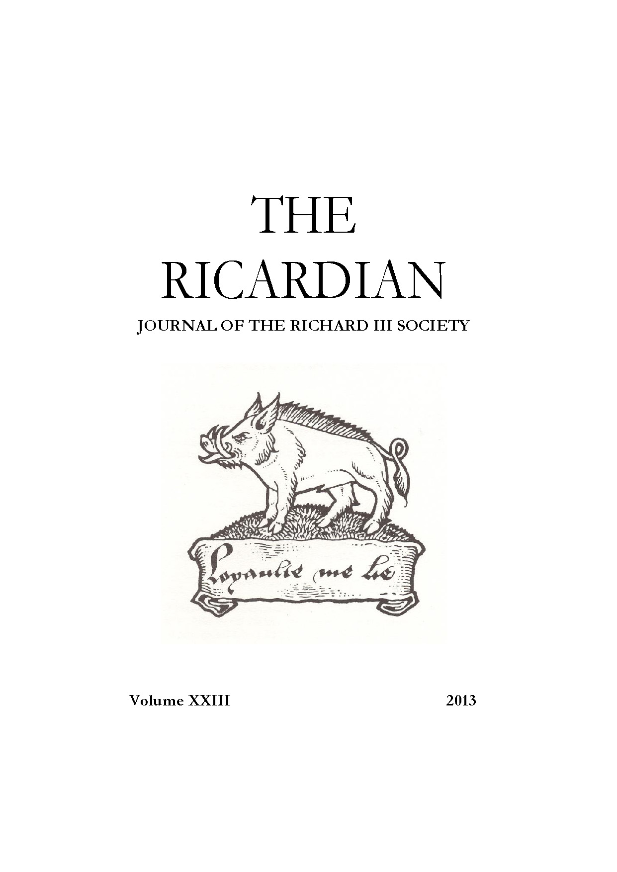 richard iii society learn more