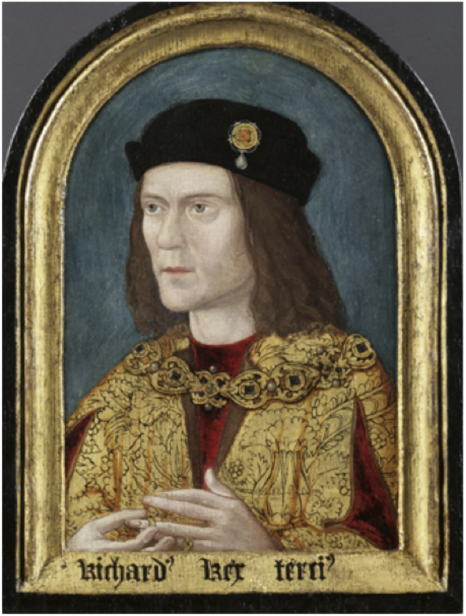King Richard III. Portrait after restoration