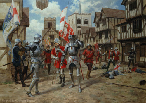 First Battle of St Alban by Graham Turners
